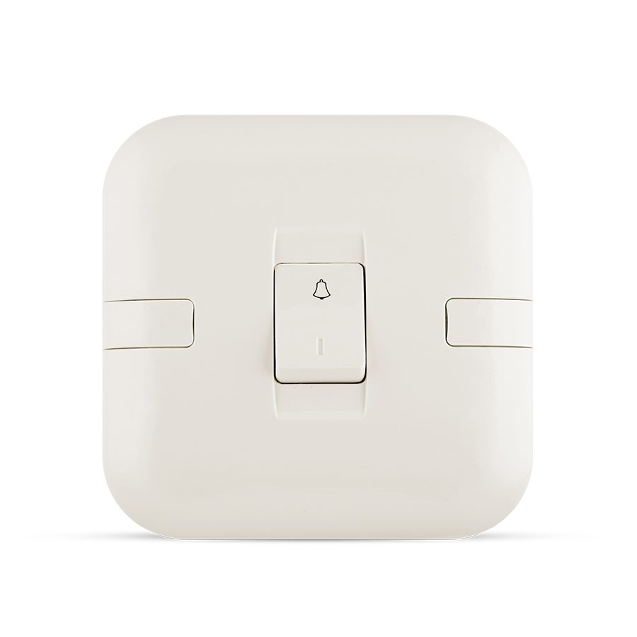 10A 1 gang bell switch white color spectra