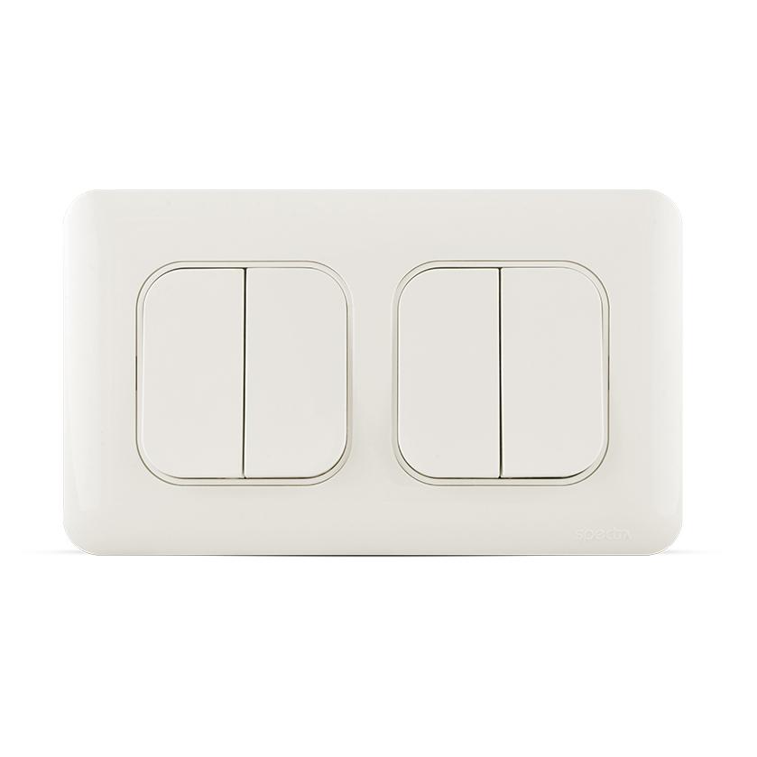مفتاح إنارة رباعي اتجاهين (دركسيون) 10 أمبير 7×7