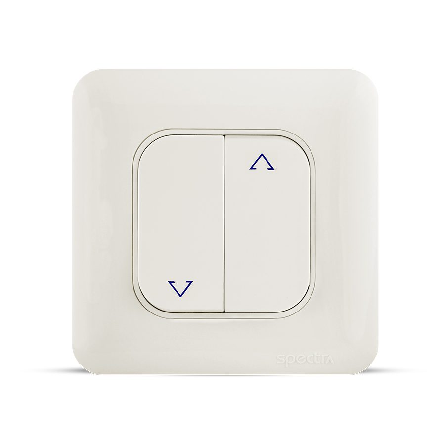 almas curtain switch white